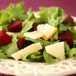 A wonderfully healthy salad with vibrant colours