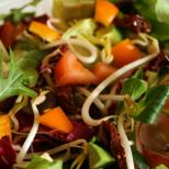 A colourful and extremely healthy salad, perfect for lunch