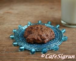 Lovely cookies, perfect, fresh out of the oven with a glass of milk (or soy milk