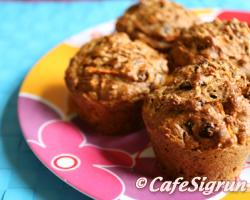 Absolutely lovely muffins with a spicy undertone