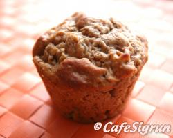 Fresh and delicious muffins with a spicy twist!