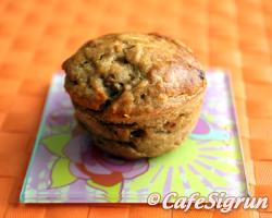 Delightful and sweet muffins with a tangy twist